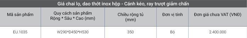 1-gia-inox-hop-canh-keo-ray-truot-giam-chan-eu-1035