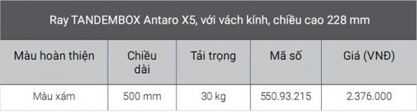 1-ray-hop-blum-tandembox-x5
