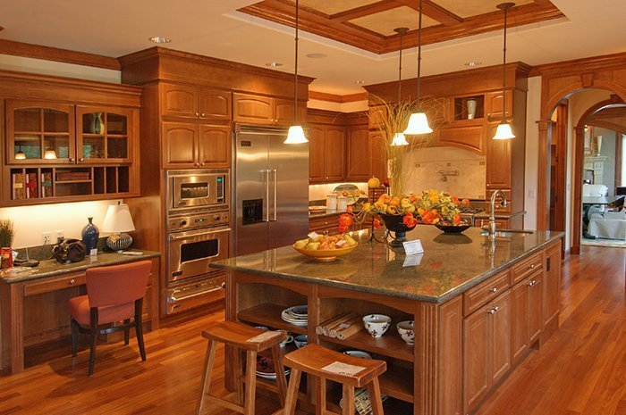 Xu hướng không gian bếp với nội thất gỗ và tràn đầy sự khác biệt 03