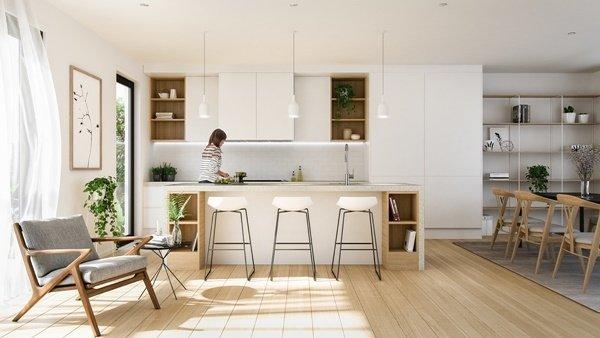 10 Kích thước tiêu chuẩn và chức năng cần thiết của tủ bếp mà bạn chưa biết thumbnail