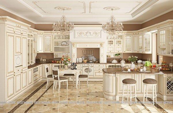 40 kiểu mẫu thiết kế không gian bếp hiện đại và đẹp năm 2019 thumbnail