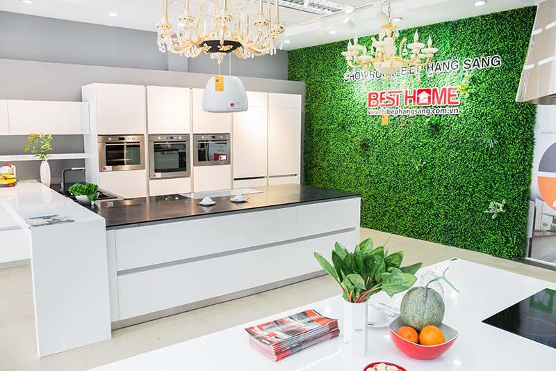 Không gian bếp được thiết kế và thực hiện bởi kiến trúc sư của Besthome