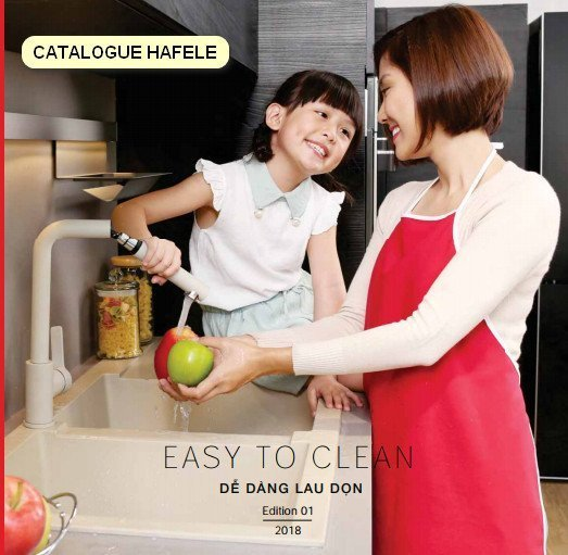 Catalogue Hafele Easy to Clean lower thumbnail