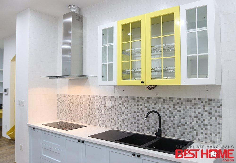 Để tạo nên một không gian bếp hoàn hảo nhất cho nhà anh Quang Anh