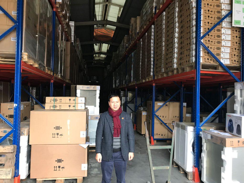 Hình ảnh kho Hàng Bosch chính hãng tại Km14 Ngọc Hồi – Hà Nội