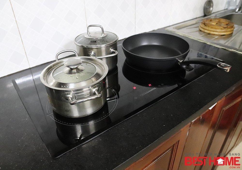 Hoàn thiện chiếc bếp nhà cô Hải