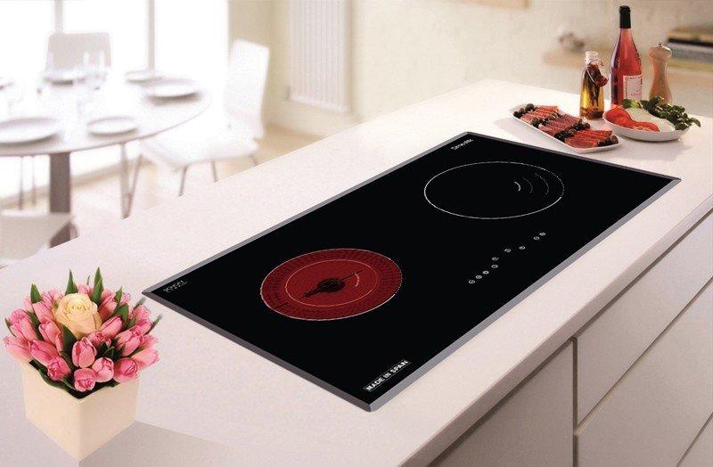 Bếp điện kết hợp từ D'mestik ES772 DKT