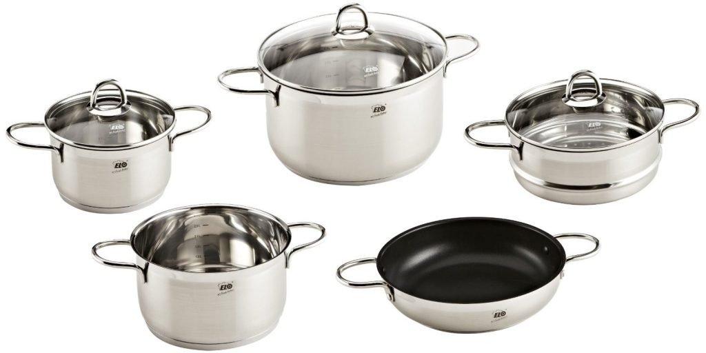 Nếu bạn vẫn chưa chọn được xoong nồi dùng cho bếp từ nào như ý thì hãy thử tìm hiểu về bộ nồi bếp từ Elo nhập khẩu Đức