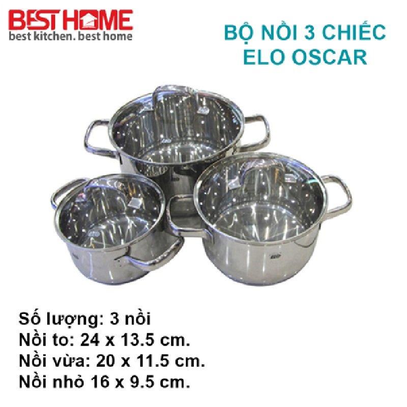 Thương hiệu bộ nồi nấu bếp từ Elo là thương hiệu chiến lĩnh thị trường vì có giá thành rẻ, chất lượng tốt