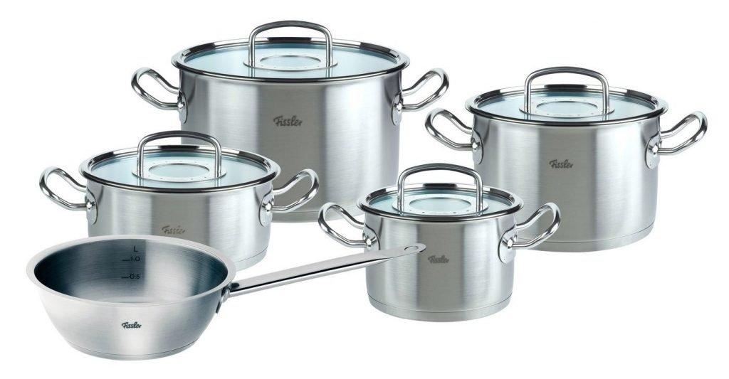 Bộ nồi nấu bếp từ Fissler là thương hiệu nồi nấu bếp từ xuất xứ từ Đức