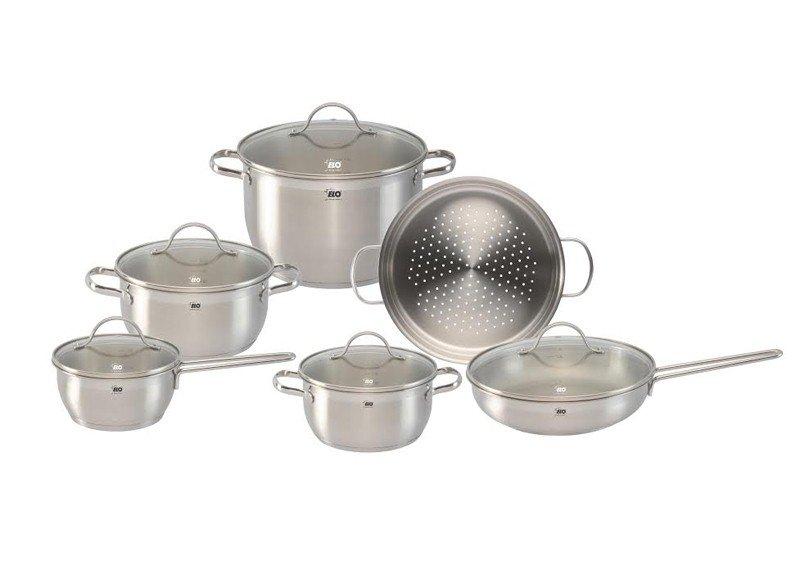 Bộ nồi nấu bếp từ Elo là dòng sản phẩm được sản xuất và nhập khẩu nguyên bộ từ CHLB Đức