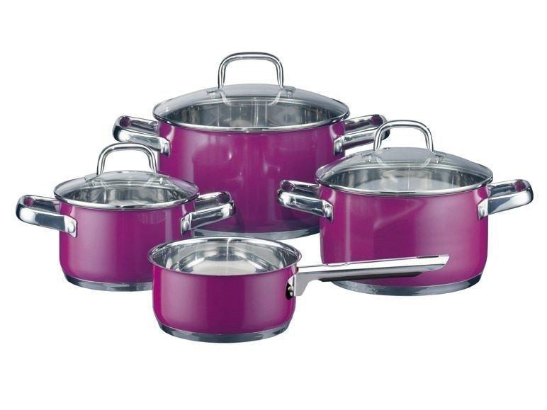 Bộ nồi nấu bếp từ của Đức Elo rất dễ dàng và tiện dụng trong quá trình vệ sinh, lau chùi