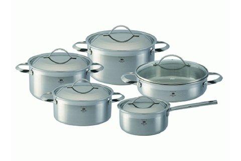 Cấu tạo của bộ nồi nấu bếp từ của Đức Elo được thiết kế với 3 lớp