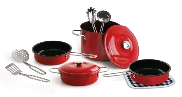 Nồi gang, nồi gang tráng men là loại nồi vô cùng lý tưởng để đun nấu trên bếp từ