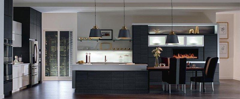 Tủ bếp gỗ Melamine và Laminate