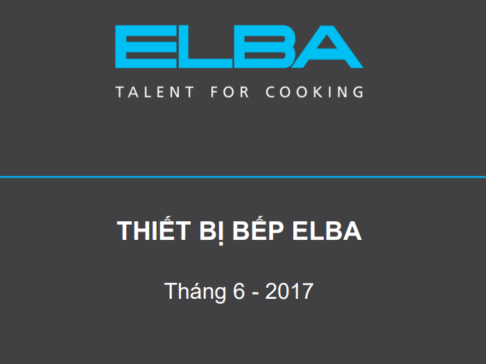 Catalogue Elba 2017 thumbnail