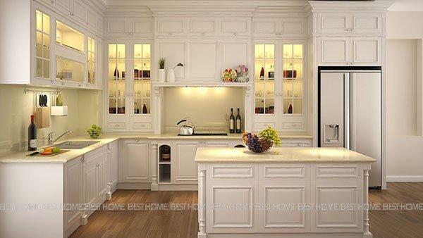 Xu hướng mẫu thiết kế không gian bếp đẹp cho phòng bếp hiện đại năm 2018 thumbnail