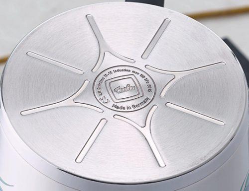 Cấu tạo đáy nồi Fissler Original Pro kết hợp 3 lớp kim loại