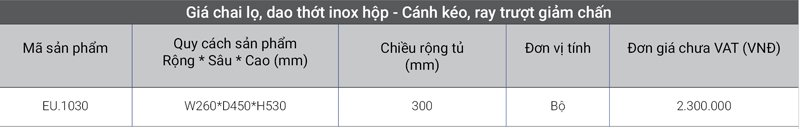 gia-chai-lo-inox-hop-canh-keo-ray-truot-giam-chan-1