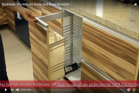 Giá đựng thực phẩm khô giành cho tủ bếp dưới post image