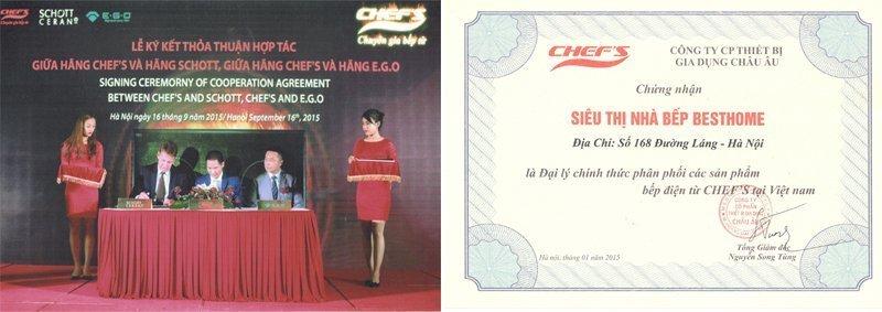 Bếp điện kết hợp từ Chefs EH-MIX366