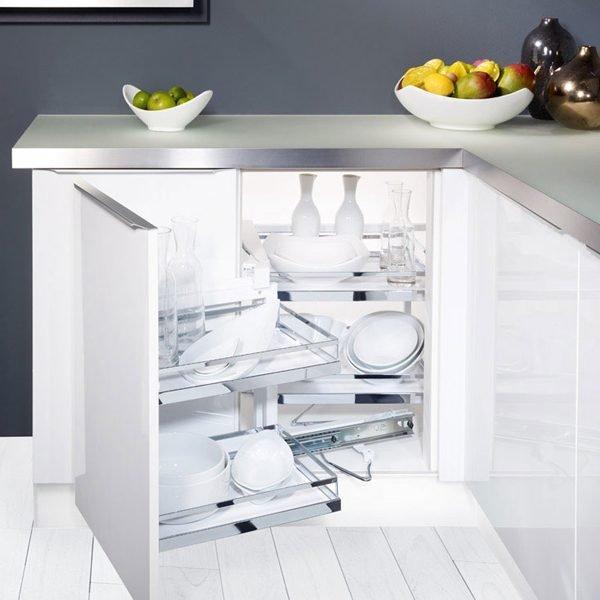 Hệ góc sole MagicCorner phụ kiện cho góc tủ bếp