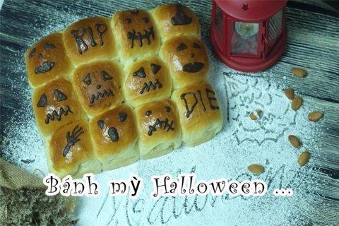 Làm bánh mì Halloween cho đêm hội ma post image