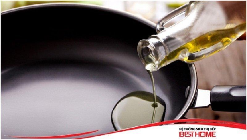 Nấu ăn cần ít dầu mỡ hơn