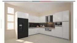 Phong cách thiết kế tủ bếp chữ L – Gỗ Acrylic thumbnail