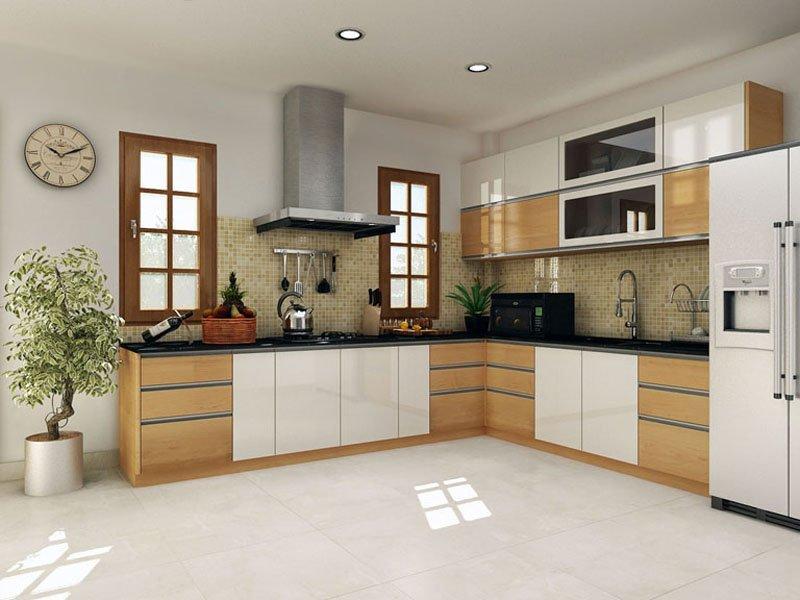 Tủ bếp gỗ công nghiệp (bản thiết kế)