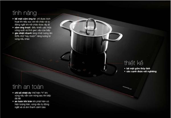Tính năng Bếp từ Hafele HC-I604B 535.02.201