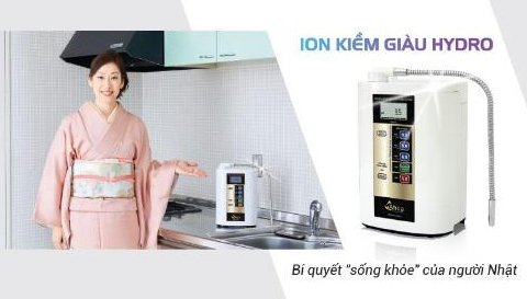 Người Nhật chọn uống nước ion Kiềm giàu Hydro hàng ngày vì sao? thumbnail