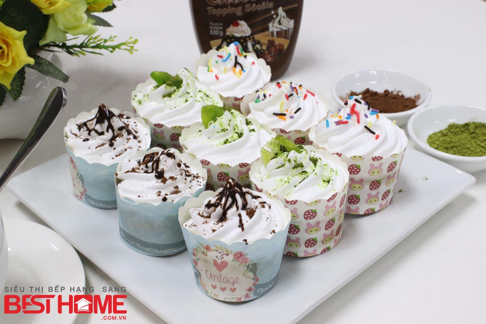 Cách làm bánh cupcake ĐƠN GIẢN nhất thumbnail