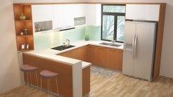 Phong cách thiết kế tủ bếp chữ U – Gỗ Acrylic và Laminate thumbnail