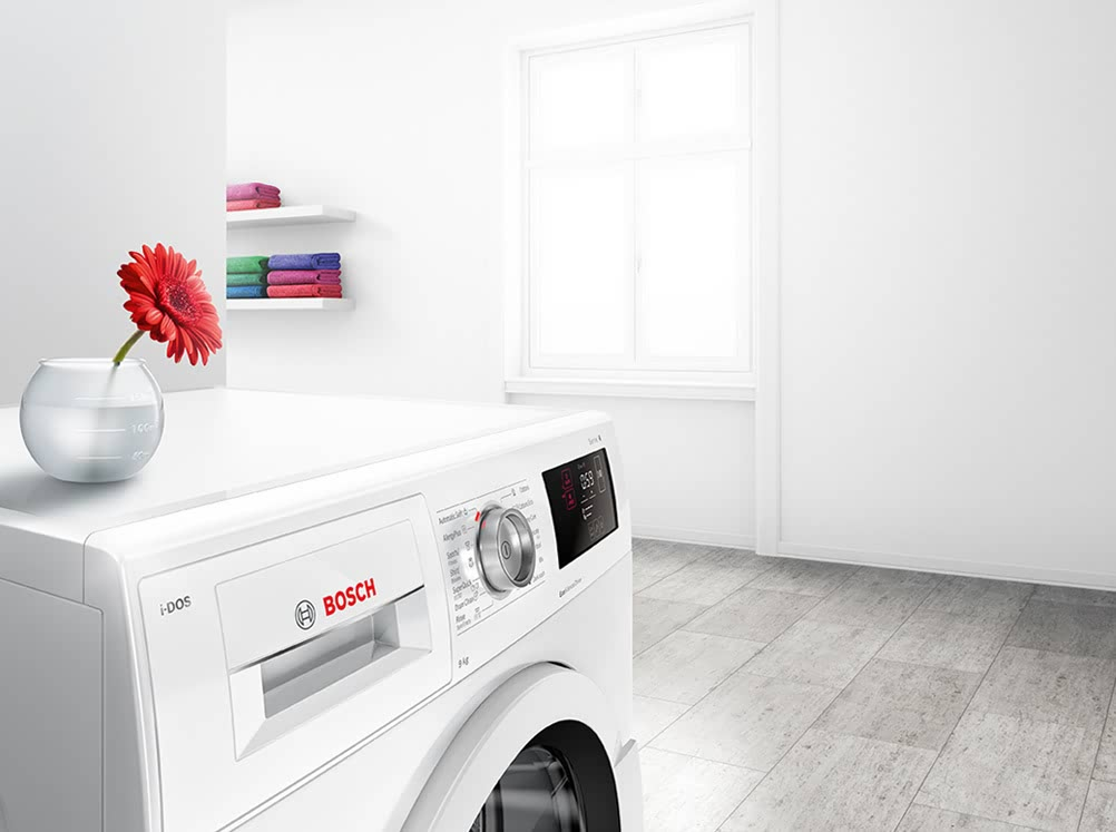 máy giặt Bosch tích hợp Công nghệ động cơ không chổi than độc quyền thumbnail