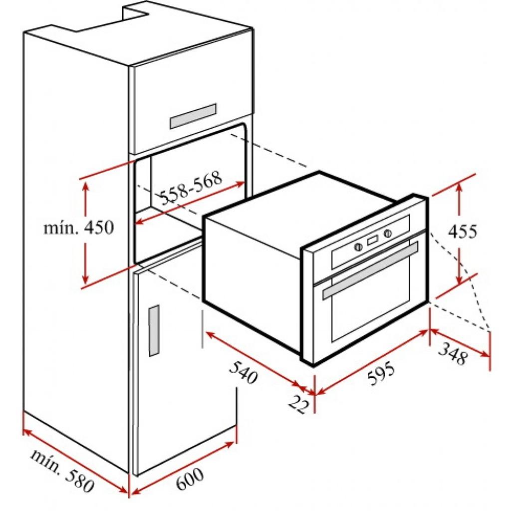 Lò nướng điện Teka HKL 840 S/S
