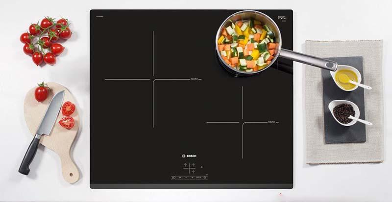 Bếp từ 3 bếp Bosch của Đức