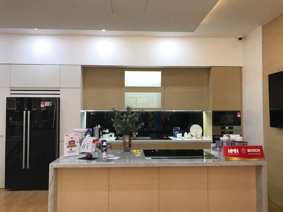 Tích hợp chính xác Thiết Bị Bếp BOSCH vào không gian bếp của BẠN