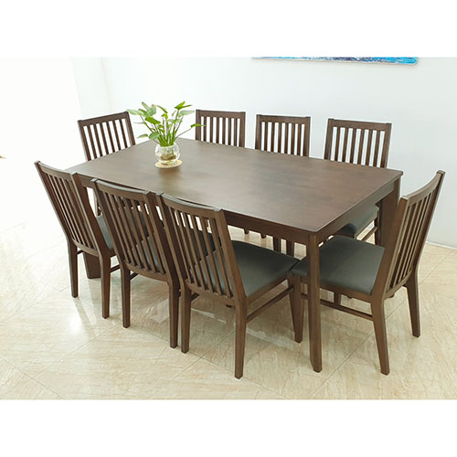 BỘ BÀN GHẾ ĂN CAO CẤP DINING 1.75m DIN1.75.8C