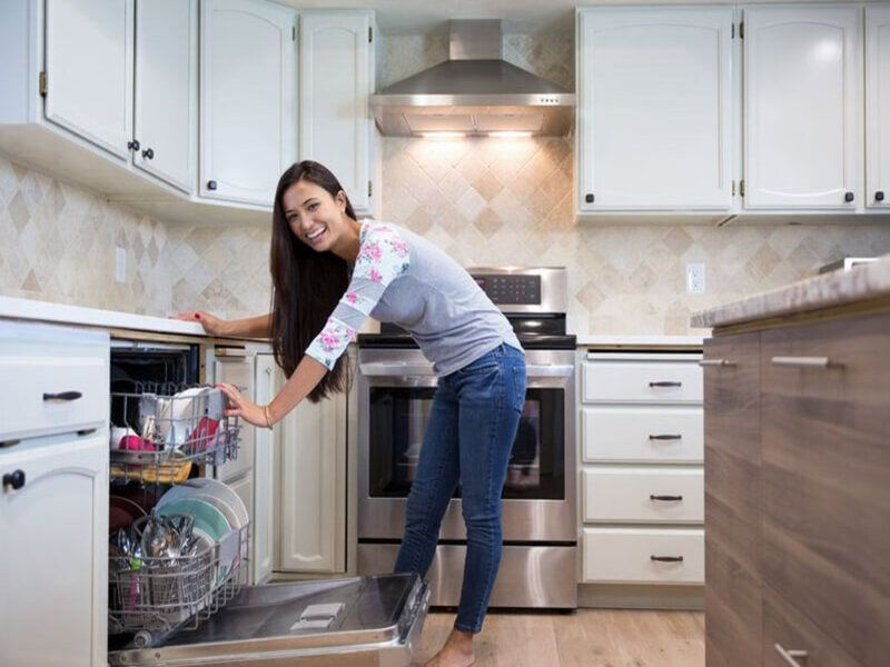 Review Máy Rửa Bát 15 Bộ Kocher KD15EU-8835 Dành Cho Nhà Đông Người