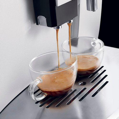 Máy pha cafe tự động Delonghi ESAM03.120.S - Pha Cappuccino hay Espresso cùng 1 lúc