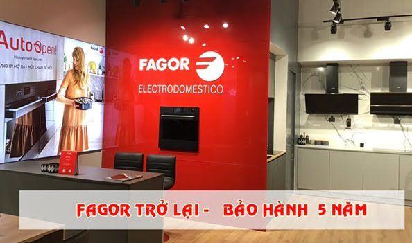 Thương hiệu bếp Fagor quay lại Việt Nam với Chính Sách Bảo Hành Vô Đối