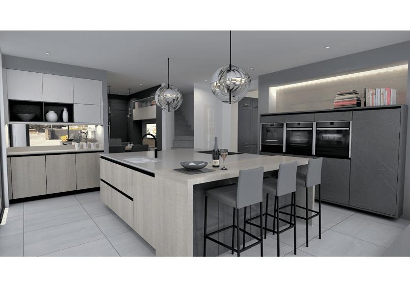 Sự kết hợp HOÀN HẢO giữa thiết bị bếp Brandt và tủ Acrylic