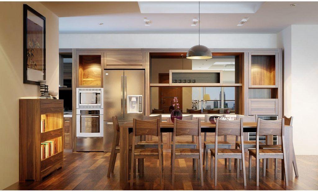 Sự kết hợp Tuyệt vời của tủ bếp gỗ Óc Chó và đồng bộ thiết bị bếp Fagor post image