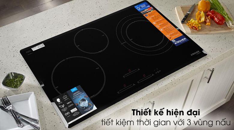 Bếp từ 3 bếp KOCHER DI855GE nhập khẩu Đức