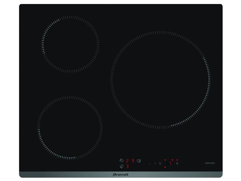Bếp từ 3 bếp Brandt BPI6314B black nhập nguyên chiếc tại Pháp