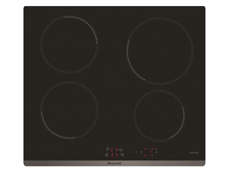 Bếp từ 4 bếp Brandt BPI6410B black nhập nguyên chiếc tại Pháp