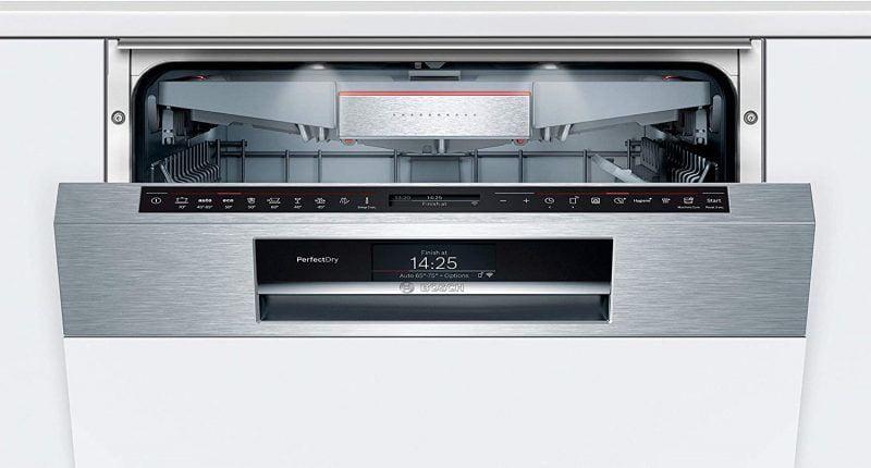 Máy rửa bát bán âm BOSCH SMI88US36E Series 8