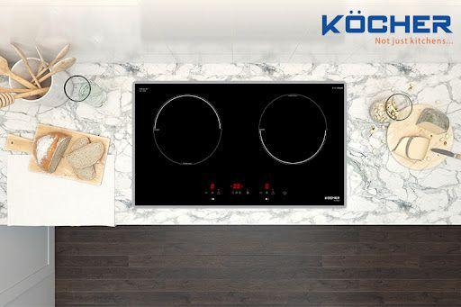 Bếp từ 2 bếp KOCHER DI-6901 lắp ráp Việt Nam