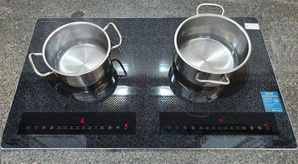 Bếp từ 2 bếp Spelier SPM – 928I Plus Snow xuất xứ Malaysia